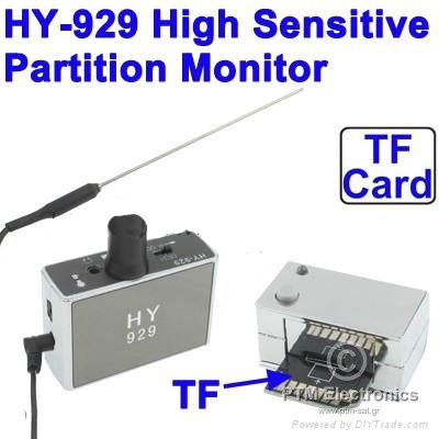 HY929 High Sensitive Partition Wall Detection Listening Monitor