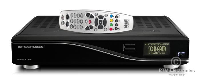 DREAMBOX DM8000 HD PVR (TAIWAN SIM 2,01 BT76)